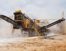 Fabo MCK-90 MOBILE CRUSHING & SCREENING PLANT FOR BASALT