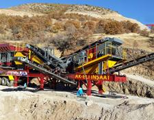 Fabo MCK-60 MOBILE CRUSHING & SCREENING PLANT FOR HARDSTONE