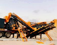 Fabo MDMK-02 | 170-250 TPH MOBILE CRUSHING & SCREENING PLANT