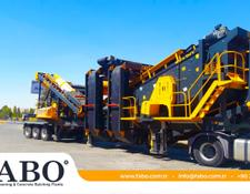 Fabo MDMK-03 SERIES 300 TPH MOBILE CRUSHING & SCREENING PLANT