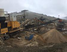 Fabo MJK-110 SERIES 200-300 TPH MOBILE JAW CRUSHER PLANT