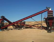 Fabo STATIONARY TYPE 100-150 T/H CRUSHING & SCREENING PLANT